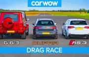 Hangisi Geçer? Mercedes-AMG G63 – Audi RS3 – Leon CUPRA R