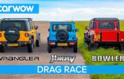 Hangisi Geçer? Suzuki Jimny – Jeep Wrangler – Bowler Bulldog