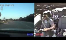 Telefonla Uğraşan Polis, Üzerine Gelen Aracı Göremedi!
