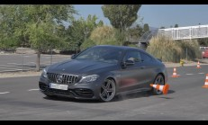 Yeni Mercedes-AMG C 63 S Coupe Geyik Testi Yayınlandı
