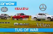 Hangisi Çeker? Mercedes X-Serisi – Toyota Hilux – Isuzu D-Max