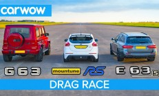 Hangisi Geçer? Mercedes-AMG E63 S – G63 – 520 Beygirlik Ford Focus RS