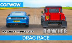 V8'lerin Savaşı: Ford Mustang – Bowler Bulldog