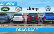 Hangisi Geçer? VW Amarok – Land Cruiser – Land Rover Discovery – Jeep Wrangler