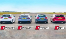 Hangisi Geçer? Audi RS5 – RS3 – S4 – B7 RS4