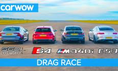 Hangisi Geçer? BMW M340i – Audi S4 – Mercedes-AMG E53 – Volvo S60 Polestar
