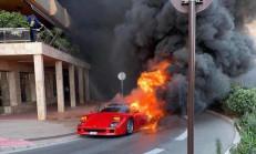 Ferrari F40 Cayır Cayır Yandı!
