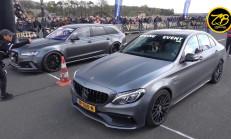 Devler Yarışıyor: ABT Audi RS6 Avant C7 – Nissan GT-R R35 – Mercedes-AMG C63S