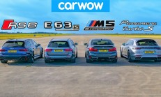 Hangisi Geçer? Audi RS6 – BMW M5 – Mercedes-AMG E63 – Porsche Panamera