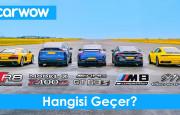 Hangisi Geçer? BMW M8 – Audi R8 – Mercedes-AMG GT 63 S – Porsche 911 – Tesla Model X