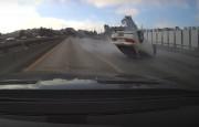Kontrolden Çıkan Acura RSX Takla Attı