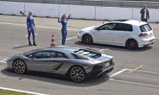 Hangisi Geçer? Volkswagen Golf 7 R – Lamborghini Aventador S