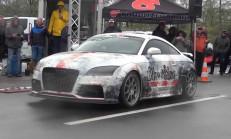 1300 Beygirlik Audi TT RS'in 322 km/s Hızı Kaç Saniye de Devirir?