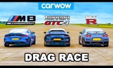 Hangisi Geçer? BMW M8 – Nissan GT-R – Ferrari GTC4 Lusso