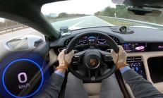 Porsche Taycan Turbo S'in Etkileyici 0-270 km/s Hızlanması