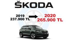 Skoda Modelleri 2019-2020 Fiyat Karşılaştırması