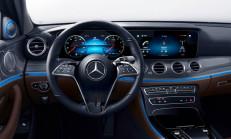 2021 Mercedes E-Serisi'nin Kapasitif Direksiyon Simidini Tanıttı