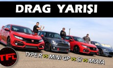 Drag: Civic Si – MX-5 Miata – Mini GP – Civic Type R