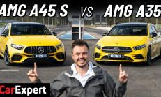 Drag Yarışı: Mercedes-AMG A35 – A45 S