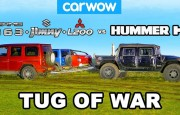 Hangisi Çeker? Hummer H1 – G63 + Jimny + L200