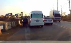 U Dönüşü, Masum Motosiklet Sürücüne Kaza Yaptırdı