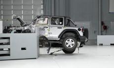 Yeni Jeep Wrangler, IIHS Çarpışma Testinde Resmen Çuvalladı