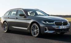 Makyajlı 2021 BMW 5 Serisi Touring Özellikleri İle Tanıtıldı