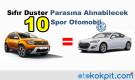 Sıfır Duster Parasına Alınabilecek 10 Spor Otomobil