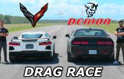 Hangisi Geçer? 2020 Chevrolet Corvette C8 – Dodge Demon