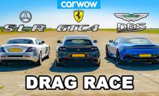 Hangisi Geçer? Aston Martin DBS – Ferrari GTC4 – Mercedes SLR McLaren