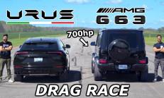 Hangisi Geçer? Lamborghini Urus – 700 BG Mercedes-AMG G63