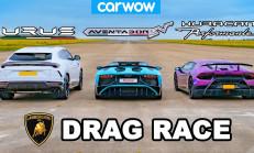 Aile Yarışta: Lamborghini Urus – Aventador – Huracan