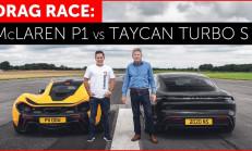 Hangisi Geçer? McLaren P1 – Porsche Taycan Turbo S