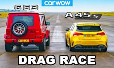 Hangisi Geçer? Mercedes-AMG G63 – A45 S