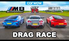 Hangisi Geçer? Porsche 911 Turbo – BMW M8 – Nissan GT-R