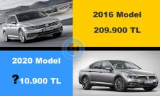 Volkswagen Passat 2016-2020 Fiyat Karşılaştırması