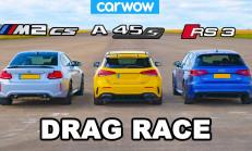 Hangisi Geçer? Yeni BMW M2 CS – Mercedes-AMG A45 S – Audi RS3