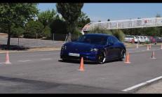 Yeni Porsche Taycan Turbo S Geyik Testi Yayınlandı