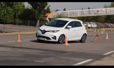 2020 Renault Zoe Geyik Testi Yayınlandı