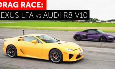 Hangisi Geçer? Lexus LFA – Audi R8 V10 Spyder