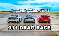Hangisi Geçer? Porsche 911 GT3 – Yeni Turbo S Coupe ve Cabriolet