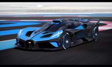 1850 PS'lik 2020 Bugatti Bolide Concept Tanıtıldı