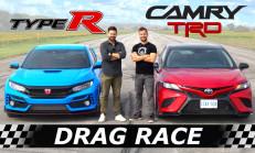 Hangisi Geçer? 2020 Toyota Camry TRD – Honda Civic Type R