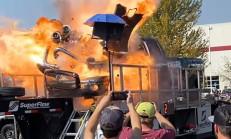 3000 Beygirlik Araçla Dyno Şov Yaparken Motoru Parçaladı