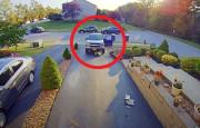 Aracını Tamir Eden Sürücü Ölümden Döndü