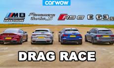 Hangisi Geçer? Audi RS6 – BMW M8 GC – Mercedes-AMG E63 S – Porsche Panamera Turbo S