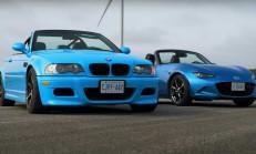 Hangisi Geçer? BMW E46 M3 – Mazda MX-5 Miata