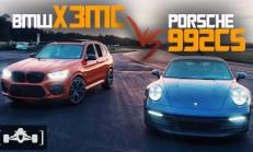 Hangisi Geçer? Modifiyeli BMW X3 M Competition – Porsche 911 (992) Carrera S