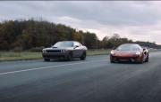 Hangisi Geçer? 1000 BG Dodge SRT Hellcat Challenger – McLaren 570S Spider
