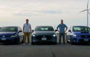 Hangisi Geçer? 2021 Mazda3 TURBO – VW Golf R – Subaru WRX